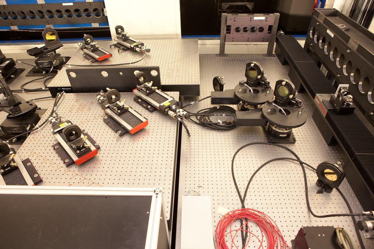 VLTI Lab Equipment