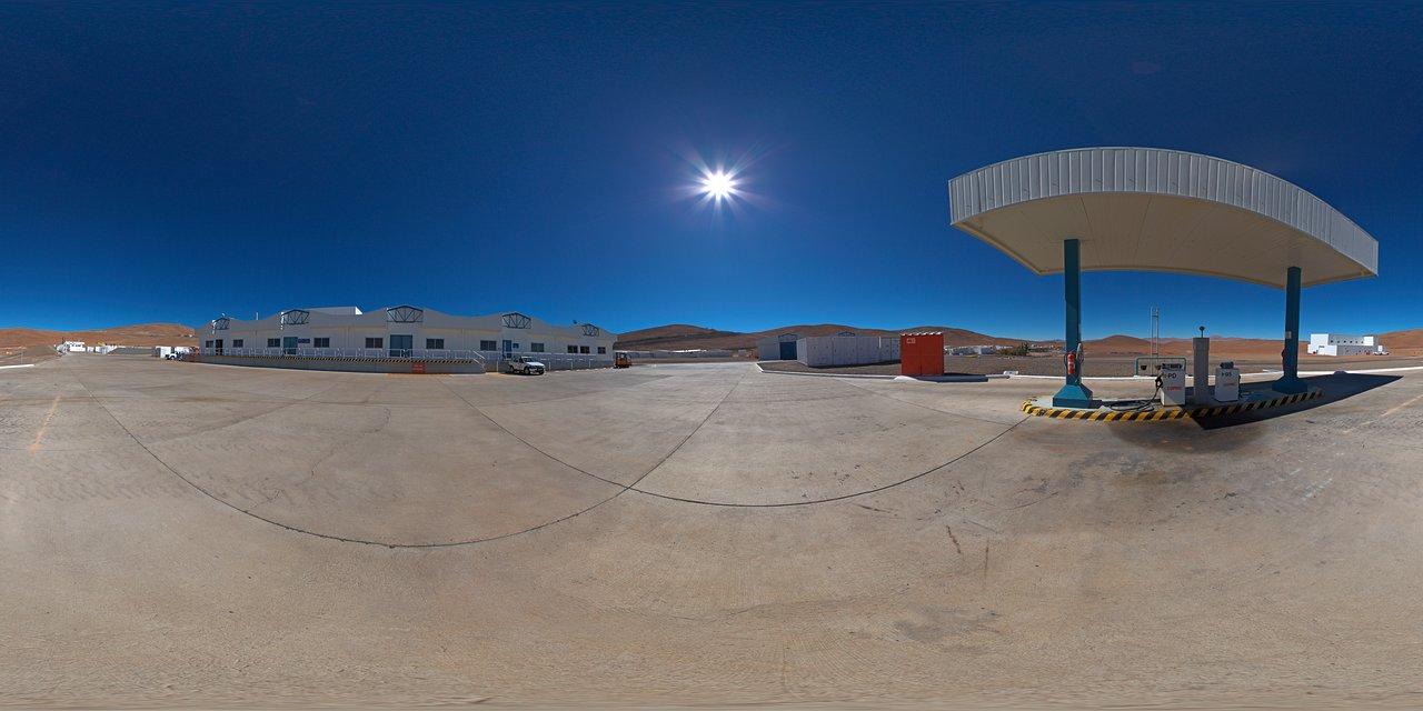 Warehouses at Paranal