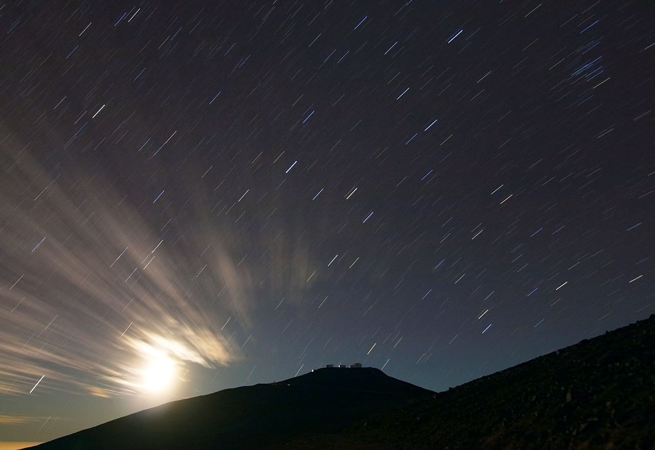 Paranal and the Streaking Stars