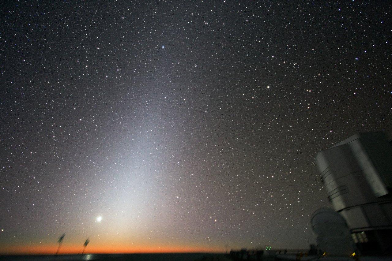 Zodiacal Light at Paranal