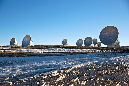High and Dry at ALMA