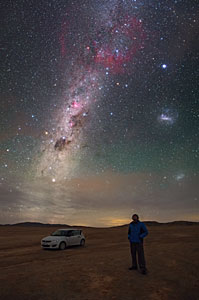 Vista espectacular sobre Atacama