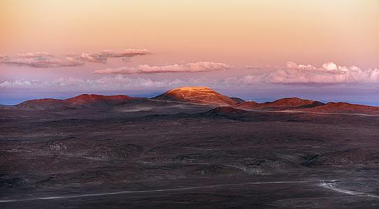 Ashen Armazones at sunset