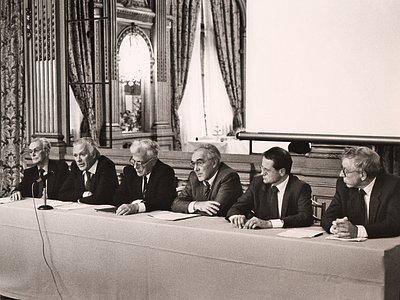 Meeting in Paris, 1987
