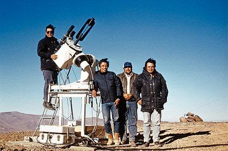 Armazones site testing, 1989