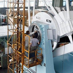 New Technology Telescope mount