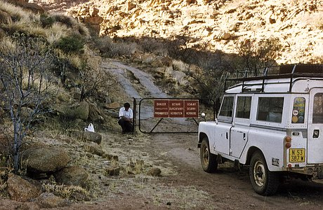 Access to Gamsberg
