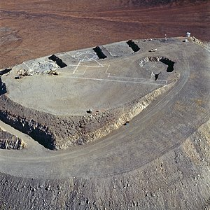 Aerial view of Paranal in 1994