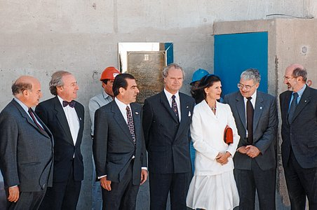 Inauguration of Paranal Observatory, 1996