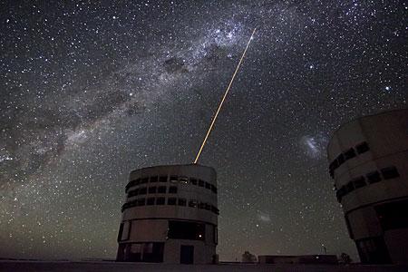 The VLT's Laser Guide Star