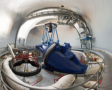 Wide-angle view of the ESO 3.6-metre telescope