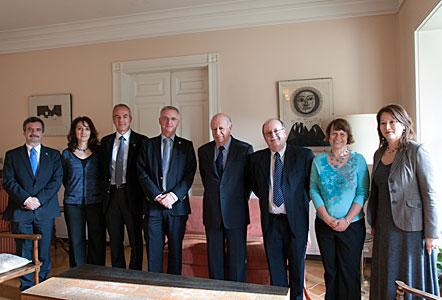 President Lagos visits ESO in Santiago