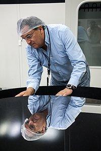 Paranal mirror inspection