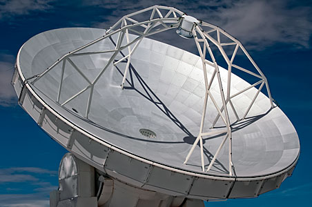 ALMA antenna in detail