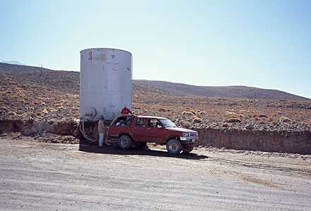 Water Tank along Access Road
