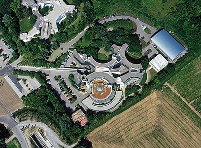 Aerial image of ESO Headquarters