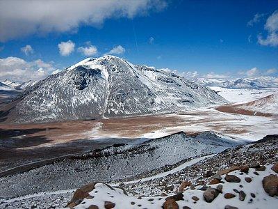 Chajnantor landscape