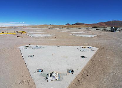 ALMA Antenna Foundations