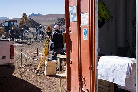 Construction of ALMA