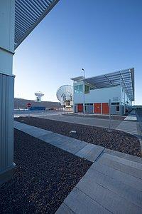 ALMA antennas and OSF