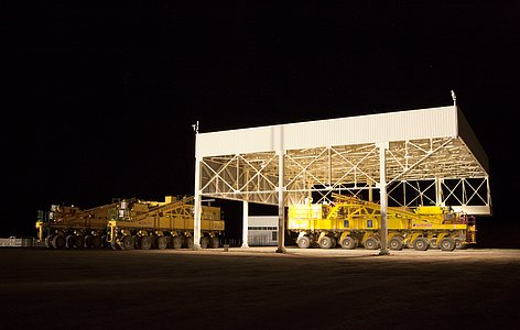 ALMA Transporters Garage