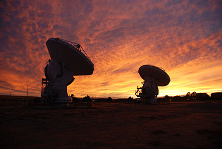 ALMA test site in New Mexico, USA