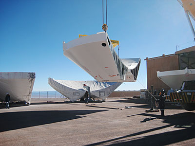 Arrival of 3rd ALMA BUS at the OSF
