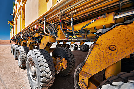 ALMA's mechanical beasts of burden