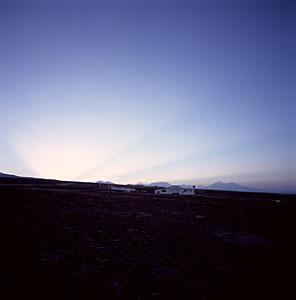 Sunrise Over ALMA Camp
