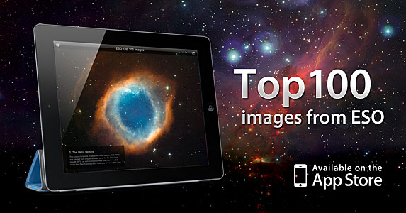 The ESO Top 100 Images iPad App