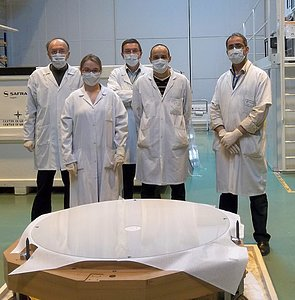 Thin shell mirror for ESO's Very Large Telescope Adaptive Optics Facility