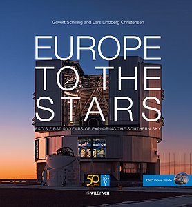 """Book cover """"Europe to the Stars"""""""
