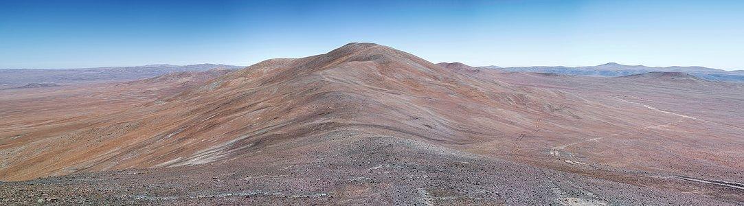 Cerro Armazones home of the future E-ELT