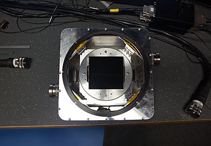 One of the test CCD detectors for the ESPRESSO instrument