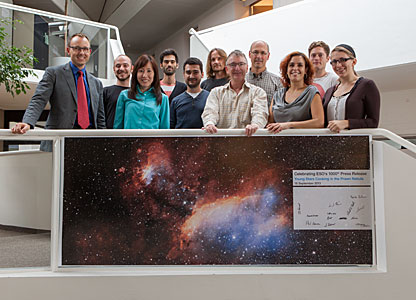 ESO's 1000th press release celebrated