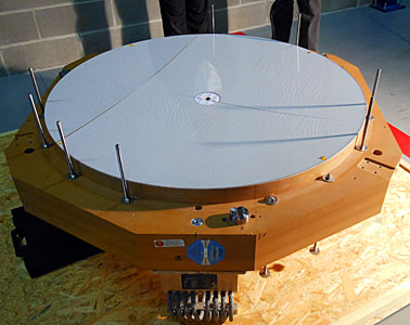 Second adaptive thin shell mirror delivered to ESO