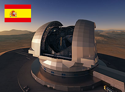 Spain to Participate in the E-ELT