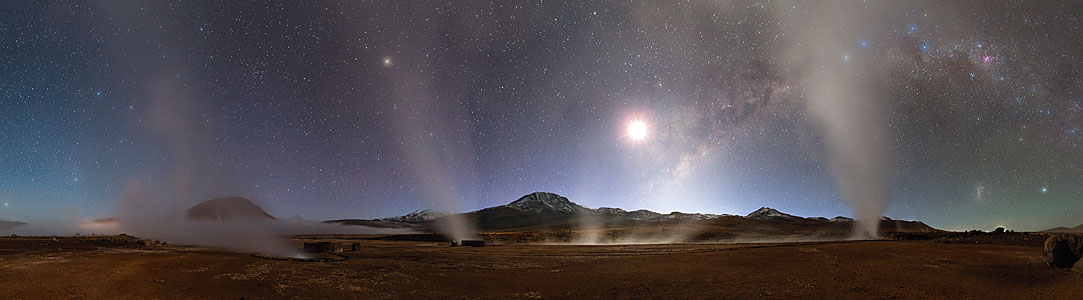 The winning entry of the 2014 Photo Nightscape Award