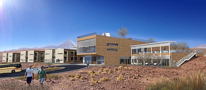 ALMA Residencia: Main Façade, Main Building