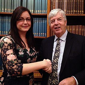 Louise Mayor wins the 2014 European Astronomy Journalism Prize