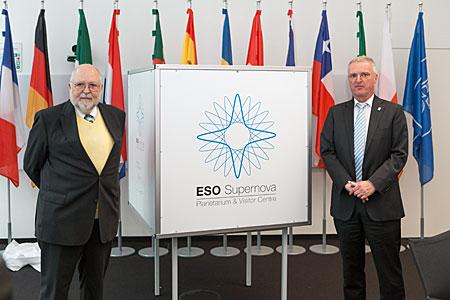 ESO Supernova logo unveiling
