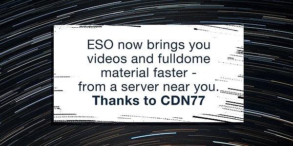 CDN at ESO