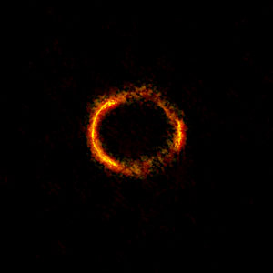 ALMA image of the gravitationally lensed galaxy SDP.81.