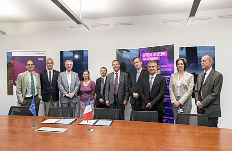 ESO signs contract with Reosc for E-ELT M4 shell mirrors
