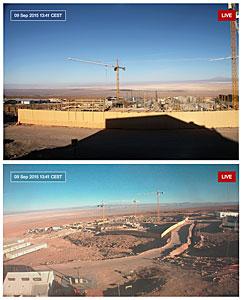 ALMA Residencia webcams