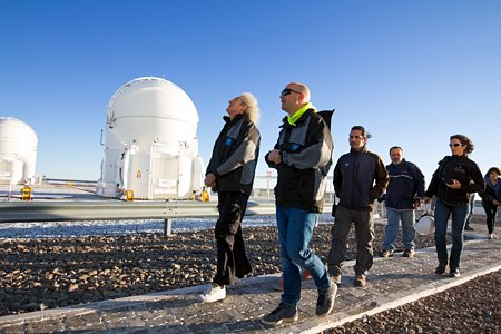 Rock Star and Astrophysicist Brian May Visits Paranal
