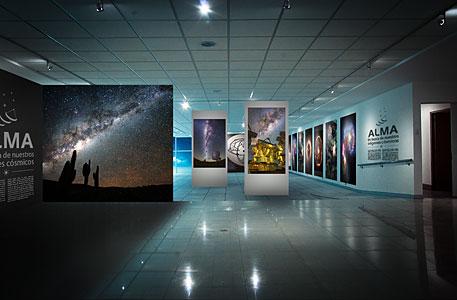 ALMA Exhibition Opens in Santiago