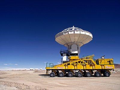 Antenna on Chajnantor