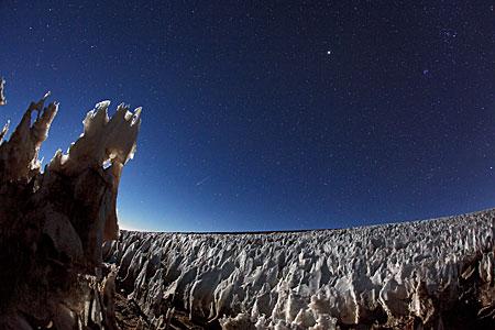 Icy vista