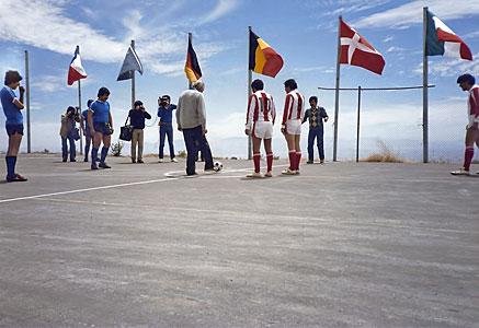 The La Silla baby football tournament